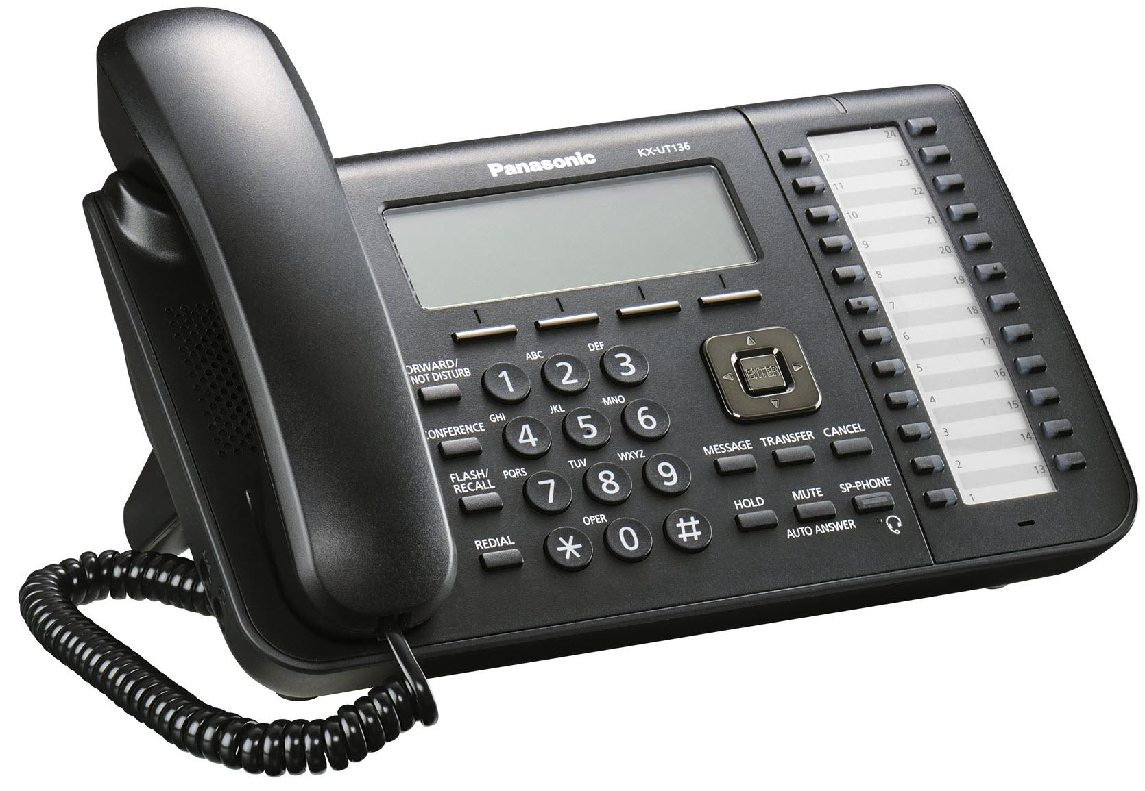 Enabling the Web Interface on the Panasonic KX-UT VoIP Phones